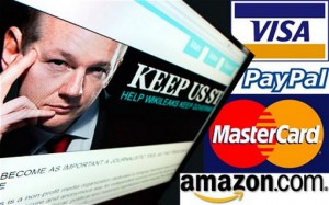 wikileaks gagne face a visa et mastercard