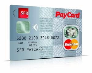 carte paiement nfc de SFR