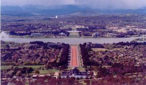 Canberra, la capitale australienne
