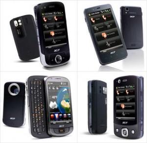 Différentes gammes de smartphone