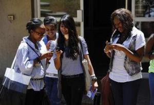 Utilisation de la transaction mobile en Afrique