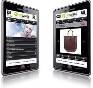Le commerce mobile sur smartphone