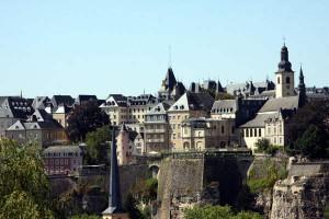 La vieille ville de Luxembourg