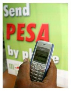 La solution mobile de Safaricom